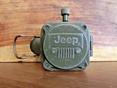 JEEP Rallyetimer Set with stopwatch and compass 2004 Army Green Metal