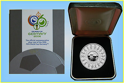 2006 Fifa World Cup Germany 1oz. Silver Proof Coins
