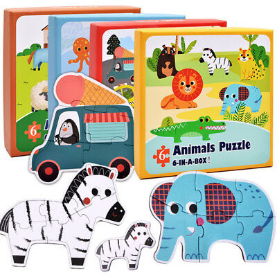 NEW Six in One Children Developmental Funning Puzzle Toys Game