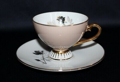 Pretty Petite Tea Cup & Saucer Or Duo By Westminster Flowers & Gilded Pattern