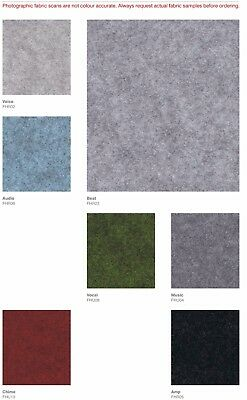 Premium Felt Acoustic Fabric, 7 Colours