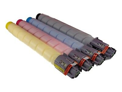 4-Pack Toner Set For Ricoh Aficio MP C305 C305SP MP C305SPF MPC305 841621 KCMY