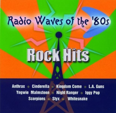 Various Artists-Radio Waves Of The 80`S: Rock Hits  (US IMPORT)  CD NEW
