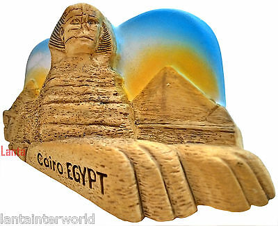 The Great Sphinx of Giza Cairo Egypt Resin 3D Fridge Magnet Holiday Refrigerator