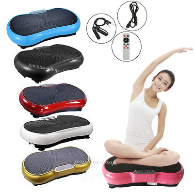 500W Crazy Vibration Machine Platform Plate Massage Exercise Home Body Fitness