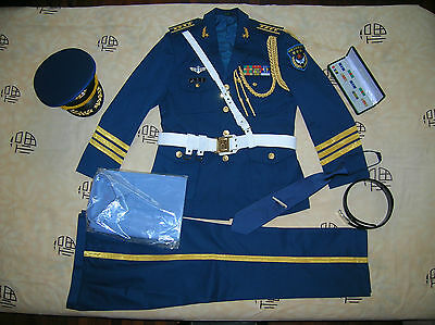 Obsolete 07's series China PLA Air Force Honour Guard Man Officer Uniform,Set