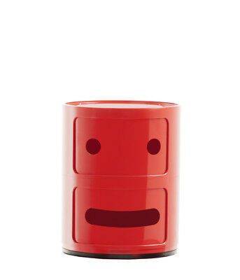 """Kartell Mobile contenitore Special Edition 50° A. """"Componibili Smile"""",variante 2"""