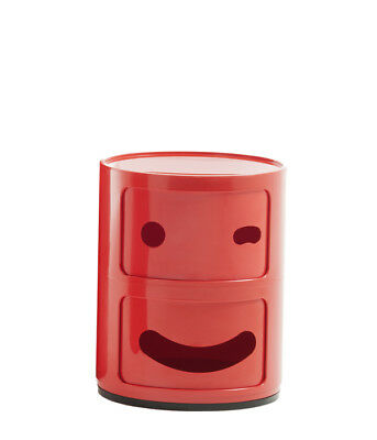 """Kartell Mobile contenitore Special Edition 50° A. """"Componibili Smile"""",variante 1"""