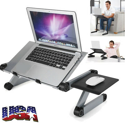 360°Portable Table Bed Sofa Folding for Laptop Notebook PC Desk Stand Tray Stand