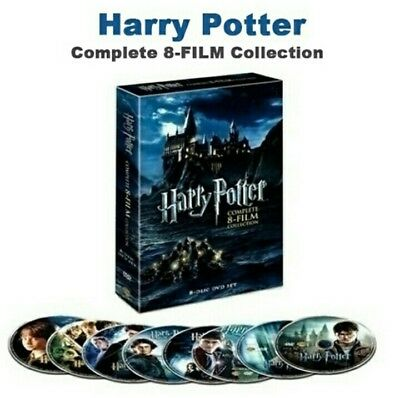saga completa harry potter DVD