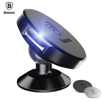 Baseus Universal 360° Rotating Phone Holder Car Magnetic Mount Stand