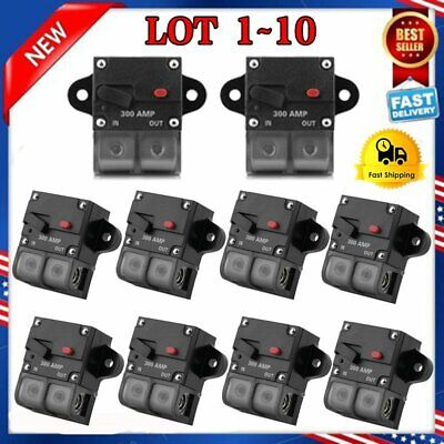 300AMP 0 2 4 Gauge Car Audio Inline Power Circuit Breaker 12V System PREMIUM LOT