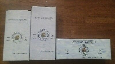 3 Boyds Bearly-Built Villages ACCESSORIES  #19509-1 #19518-1 #19514-1