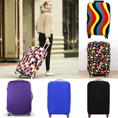 Luggage Protector Elastic Suitcase Protection Covers Bag Dustproof Anti scratch