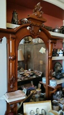 antique victorian bedroom furniture 3pc set burl inlay w marble tops.bed full