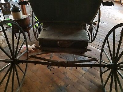 Antique Horse Drawn Doctor's Buggy, Carriage, Late 1800's-Early 1900's