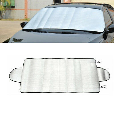 Universal 4seasons Car Front Windshield Snow Cover Frost Sun Shade Protector New