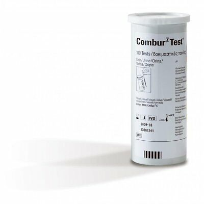 Roche Combur 7 Test Strips For Visual and Urisys Pack of 100