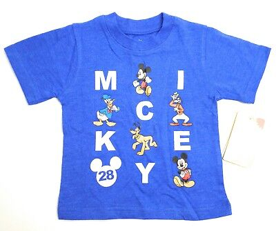 Mickey Mouse Clubhouse 12M T shirt Blue Cartoons Disney Junior NWT