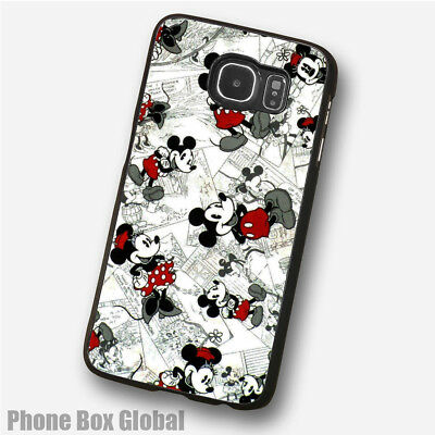 Mickey & Minnie Mouse Disney  Phone Case Fits Samsung Galaxy S3 S4 S5 & Mini