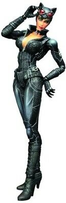 Batman Arkham City Play Arts Kai Catwoman Action Figure. Shipping Included
