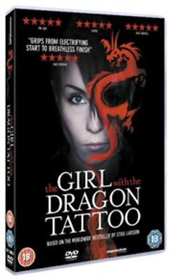 Michael Nyqvist, Noomi Rapace-Girl With the Dragon Tattoo  (UK IMPORT)  DVD NEW