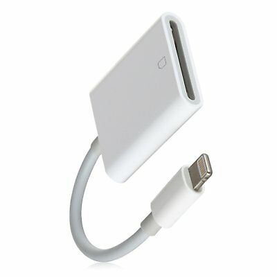 Adapter For Photos Lightning  Cable For Memory Card Reader For File Transfers