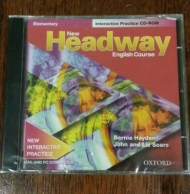 New Headway English Course Elementary Interactive Practice Cd-Rom * New&sealed*