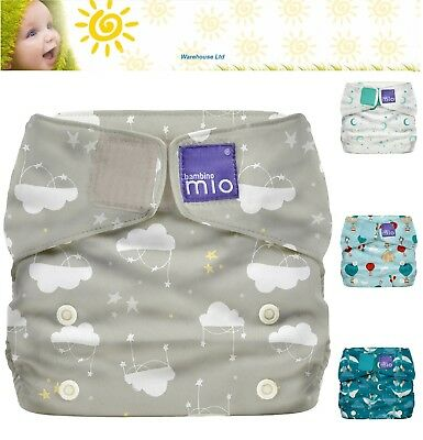 Bambino Mio REUSABLE NAPPY MIOSOFT COVER Adjustable Diaper Cover Baby Toddler