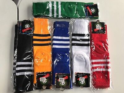 New Mens Youth Kids Womens Long Sport Traning New Socks Football Rugby Hockey