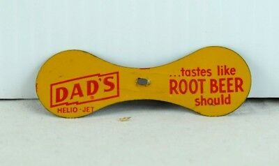 Vintage 1950's Tin Dad's Root Beer Toy Soda Collectible