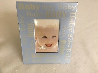Baby picture metal frame