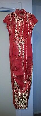 Beautiful red evening dress from China