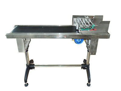 110V Automatic Friction Type PVC Belt Paging Coveyor Machine Numbering Machines