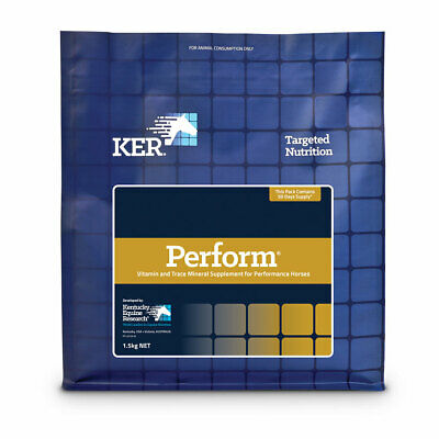 KER Perform Horse Vitamin & Trace Mineral Supplement for Performance Horses 1.5k