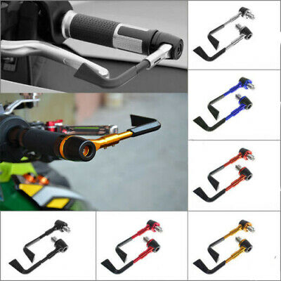 """7/8""""CNC Brake Clutch Lever Protector Protection Hand Guard For Motorcycle AU"""