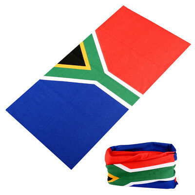 South African Flag Bandana for South Africa Sport Supporters Apparel