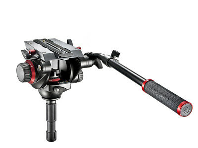 Manfrotto 504HD Pro Fluid Video Head 75 Ball Quick Release Supports 7.5kg ~ NEW