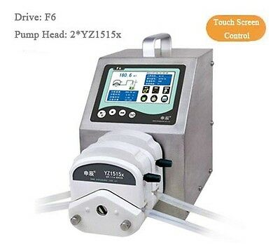 Dispensing Peristaltic Pump 0.00166-2280 mL/min F6 3*YZ1515x