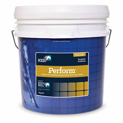 KER Perform Horse Vitamin & Trace Mineral Supplement for Performance Horses 10kg