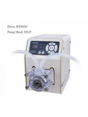 Peristaltic Pump 0.12-144 ml/min per Channel 1 Channel 0.5-600 rpm Standard Type