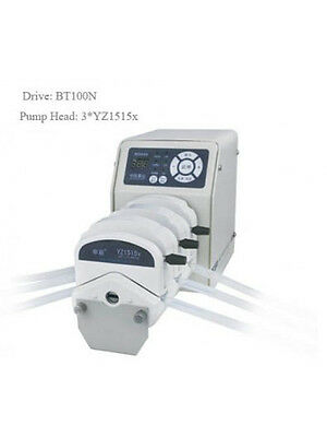 Peristaltic Pump BT100N 4*YZ1515x 0.035 - 570 ml/min per Channel 4 Channel