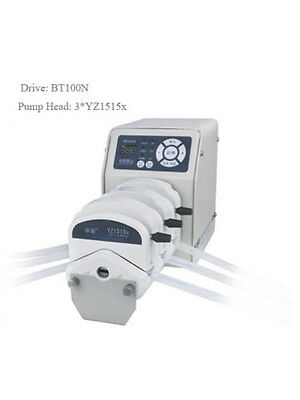 Standard Peristaltic Pump 0.000829-570 mL/min BT100N 4*YZ1515x