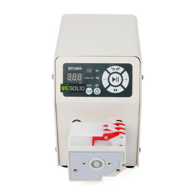 Peristaltic Pump 0.0265-64.5 ml/min per channel 3 channel 6 Roller BT100N