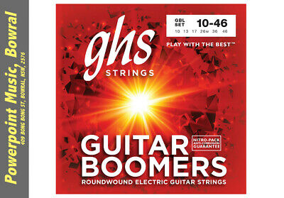 GHS GBL Boomers 10-46 Electric Guitar Strings Light Brand New!