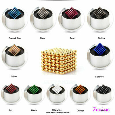 3/5mm 216pcs Magnet Magnetic Magic Cube Sphere Neo Ball Spielzeug 3D Puzzle Ball