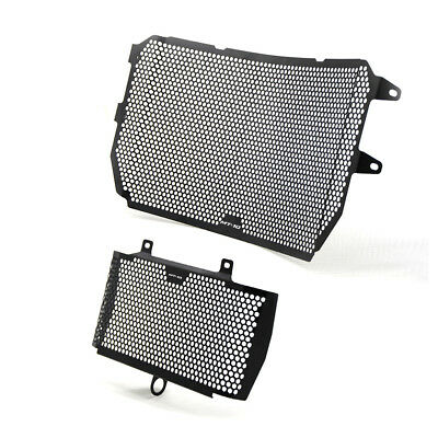 For Yamaha MT-10 2016-2017 CNC Radiator Grille & Oil Guard Protector Kit