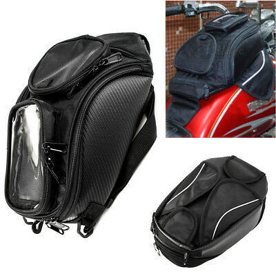 Motorcycle Dual Sport Bag Fuel Tank Top Case Tool Luggage Backpack Magnetic 10l