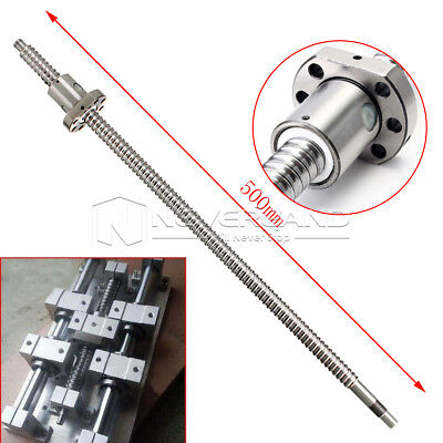 Ball Screw SFU1605 500mm Ballscrew With Single Ballnut End Machined for CNC Tool
