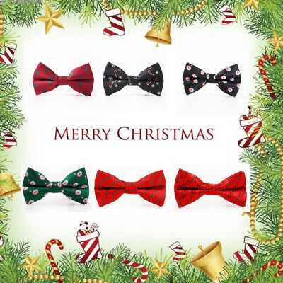 Xmas Adjustable Lovely Festival Men Bowtie Necktie Bow Tie Novelty Gift